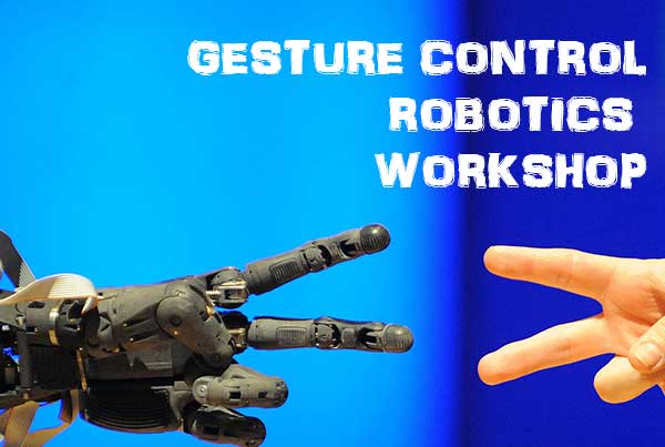 Gesture Controlled Robotics- AcceleroBotix Workshop